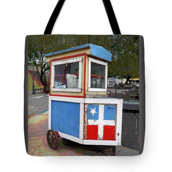 Puerto Rico - Lares  Tote Bag by Richard Reeve