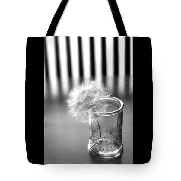 Tote Bag featuring the photograph Puff Ball by Diane Alexander