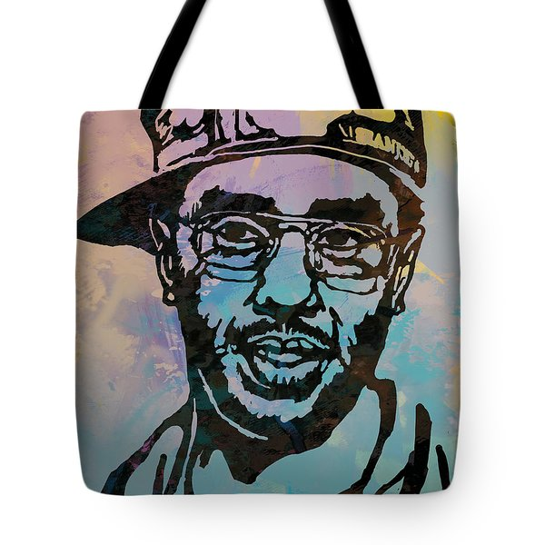 Puff Daddy Pop Stylised Art Poster Tote Bag by Kim Wang