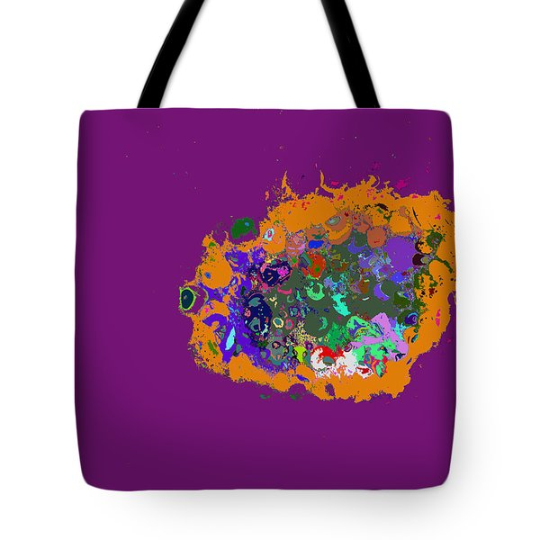 Puff Of Color Tote Bag