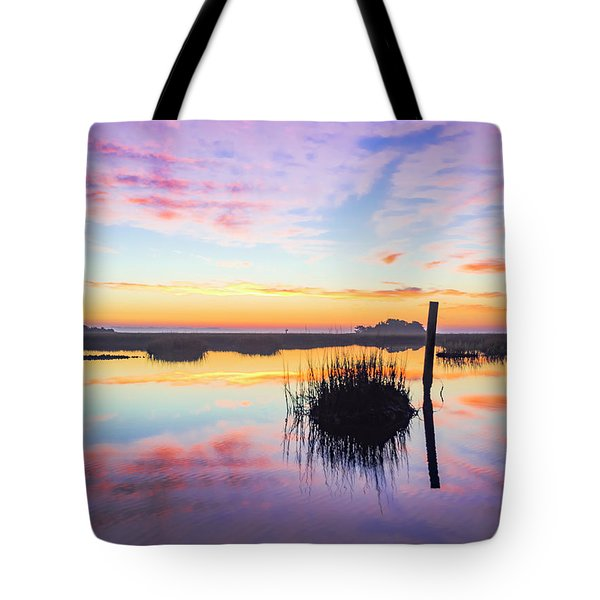 Puff The Magic Dragon - Sunrise Sunset Photo Art Tote Bag