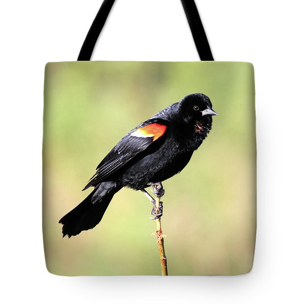 Puffed Throat Tote Bag