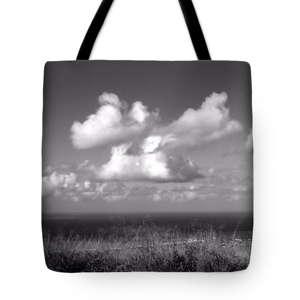 Puffy Clouds Tote Bag by Patricia Strand