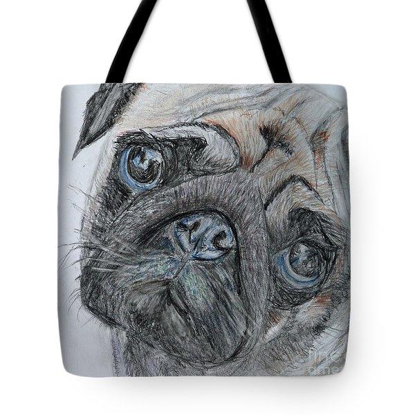Puggie Tote Bag