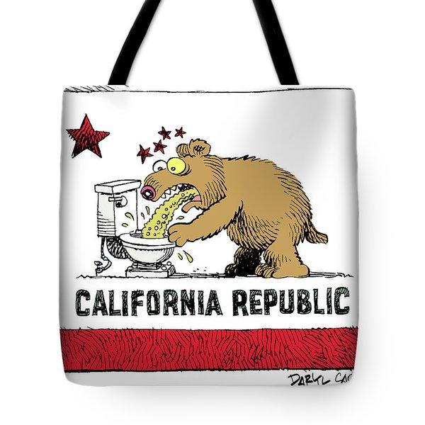 Puke Politics Tote Bag