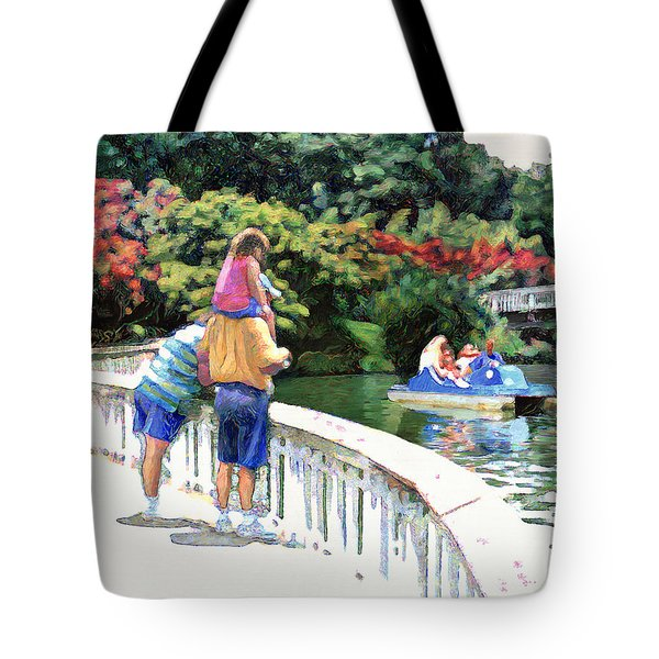 Pullen Park Tote Bag