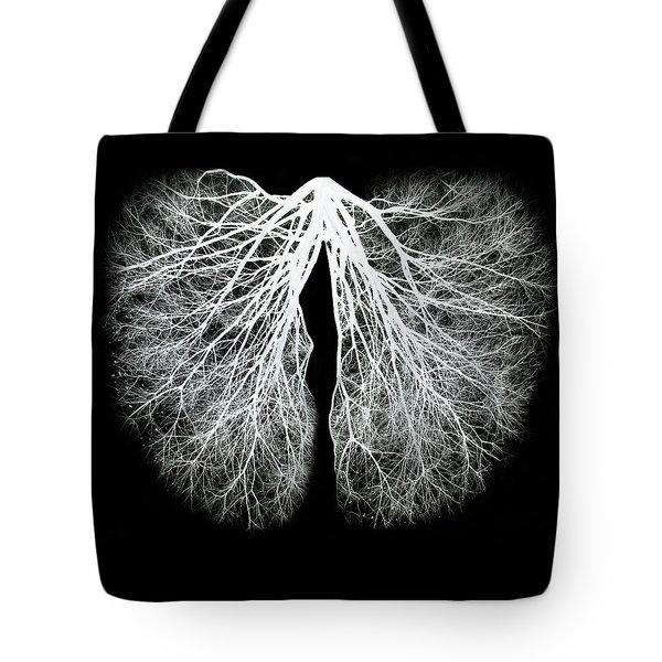 Pulmos Mundi Tote Bag