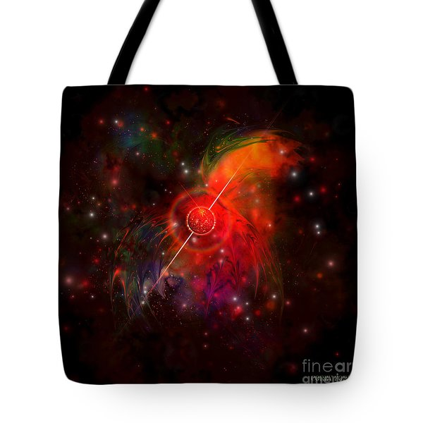 Pulsar Tote Bag by Corey Ford