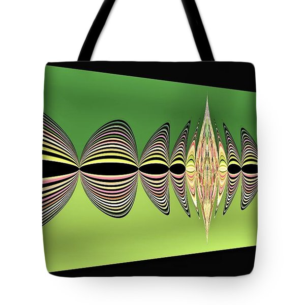 Pulse Two Tote Bag