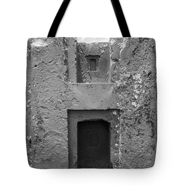 Puma Punku H- Block Tote Bag