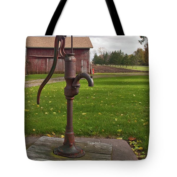 Tote Bag featuring the photograph Pump 13951 by Guy Whiteley
