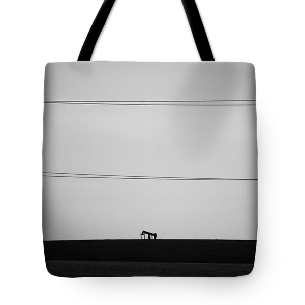 Pump Jack Tote Bag