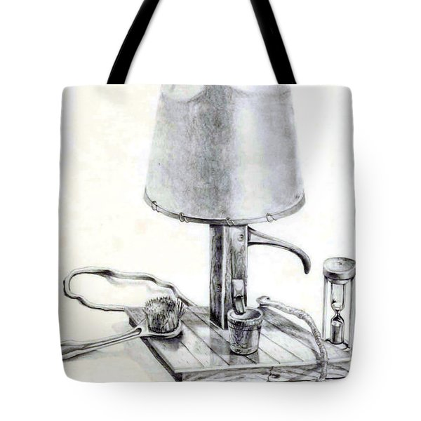 Pump Lamp Tote Bag