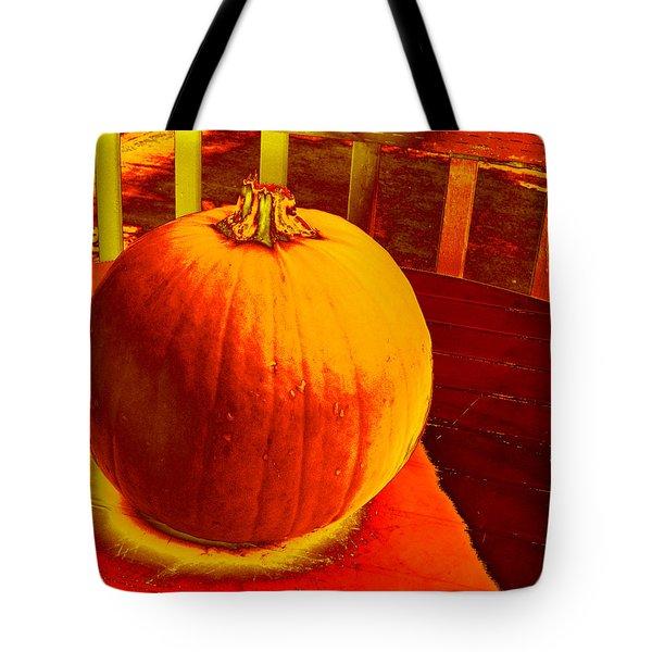 Pumpkin #4 Tote Bag