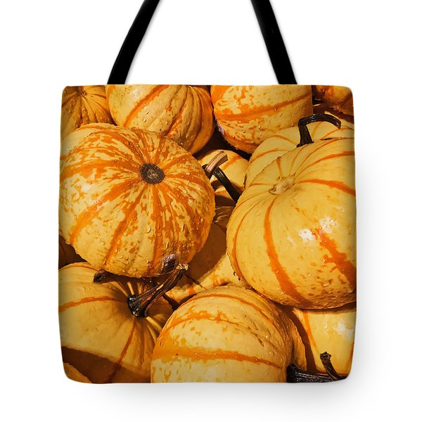 Pumpkin Harvest Tote Bag