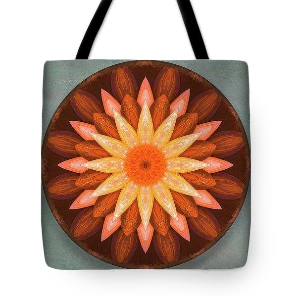 Pumpkin Mandala -  Tote Bag