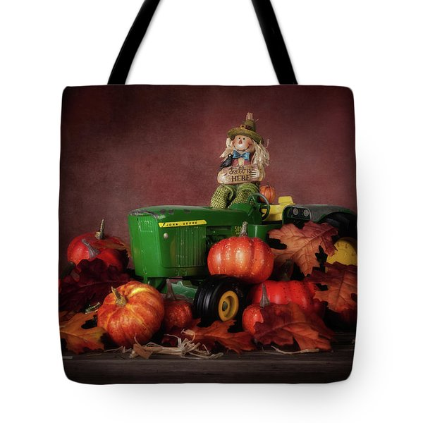 Pumpkin Patch Whimsy Tote Bag