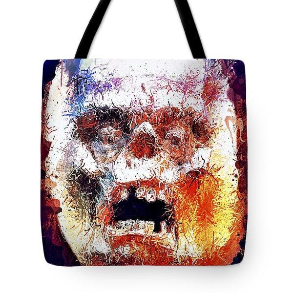 Pumpkin Scream Tote Bag
