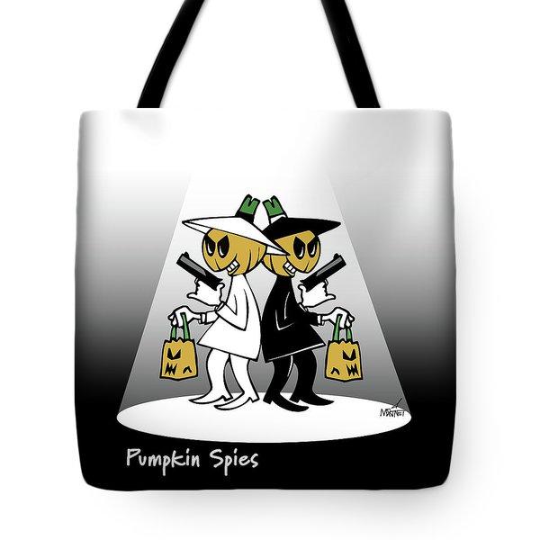 Pumpkin Spies Tote Bag