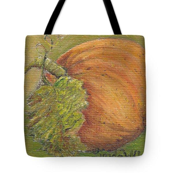 Pumpkin Time Tote Bag