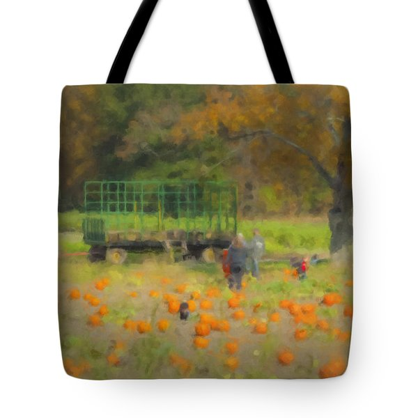 Pumpkins At Langwater Farm Tote Bag