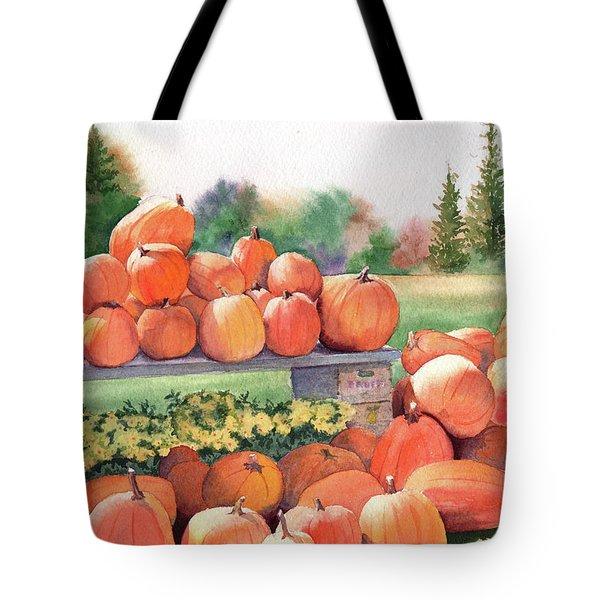 Pumpkins For Sale Tote Bag