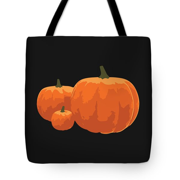 Tote Bag featuring the painting Pumpkins by Jennifer Hotai