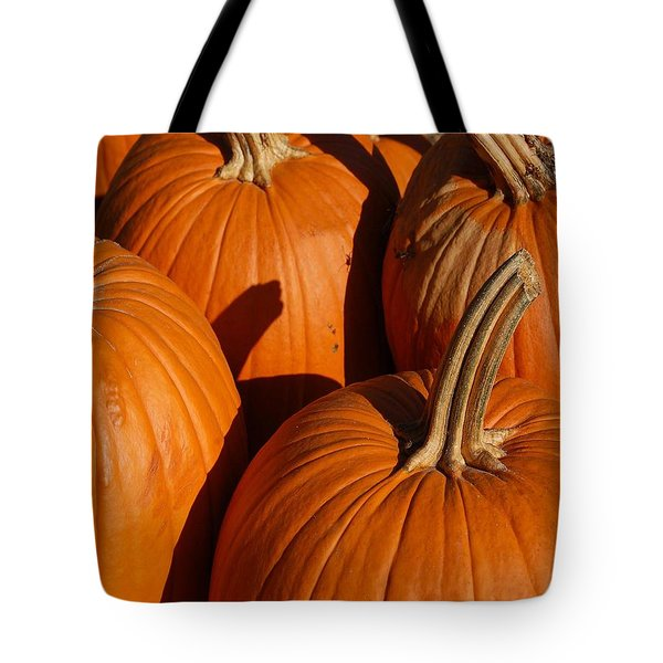 Pumpkins Tote Bag by Michael Thomas