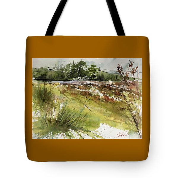Pumpkins On Rt. 13 Tote Bag