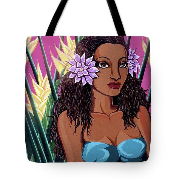 Punaluu Girl Tote Bag