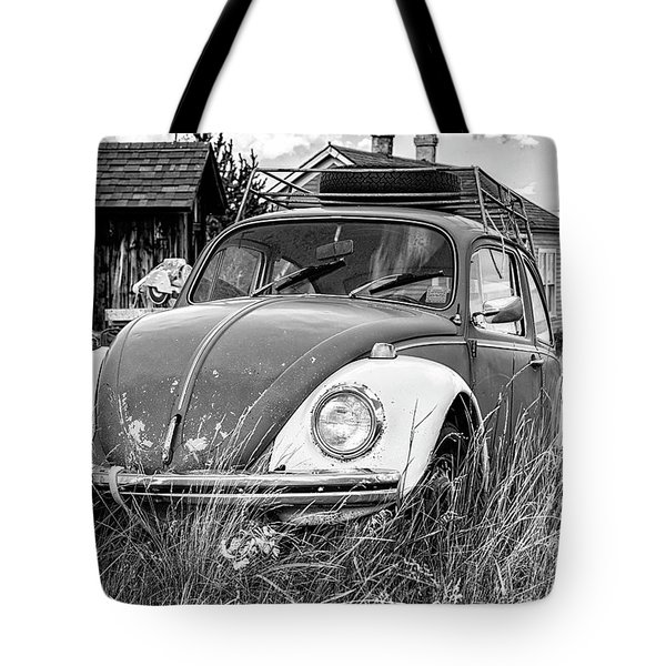 Tote Bag featuring the photograph Punch Bug by Bitter Buffalo Photography