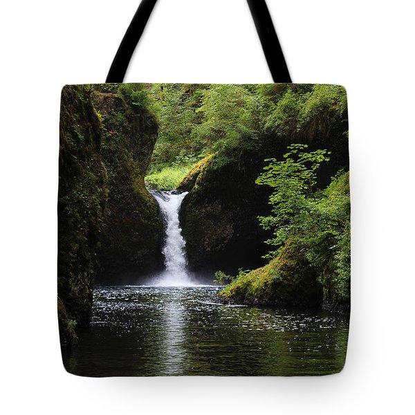 Punchbowl Falls Signed Tote Bag
