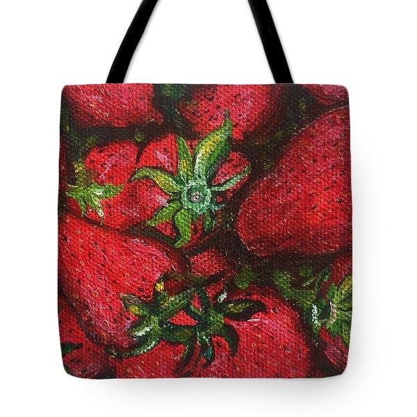 Pungo Strawberries Tote Bag
