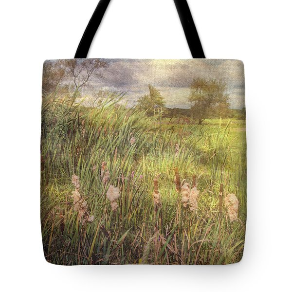 Cat O Nine Tails Going To Seed Tote Bag