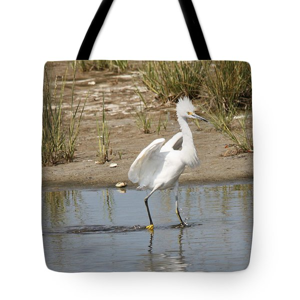 Punky Snowy Tote Bag