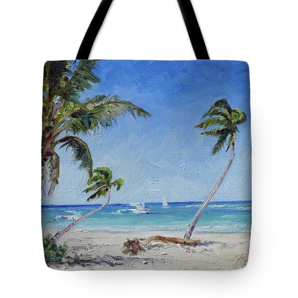 Punta Cana Bavaro - Sea Beach 14 Tote Bag