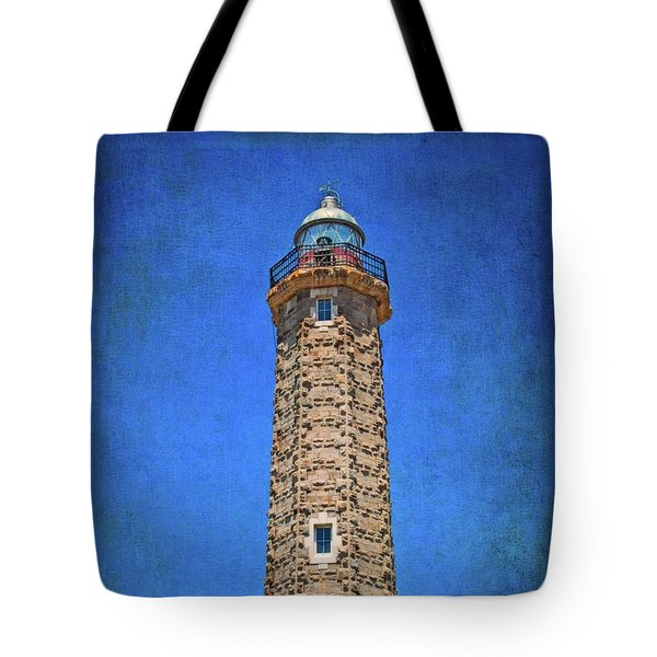 Tote Bag featuring the photograph Punto Doncela Lighthouse by Mary Machare