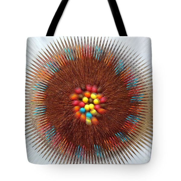Tote Bag featuring the photograph Pupil by Beto Machado