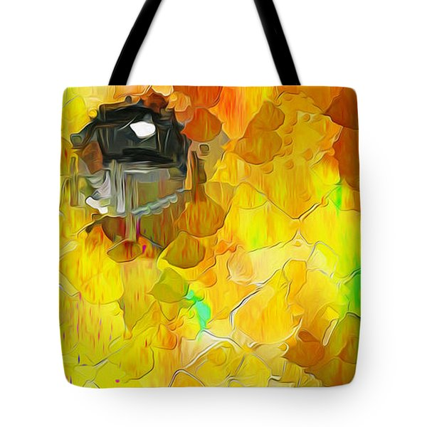 Puppy Eye In The Colors 2 Tote Bag