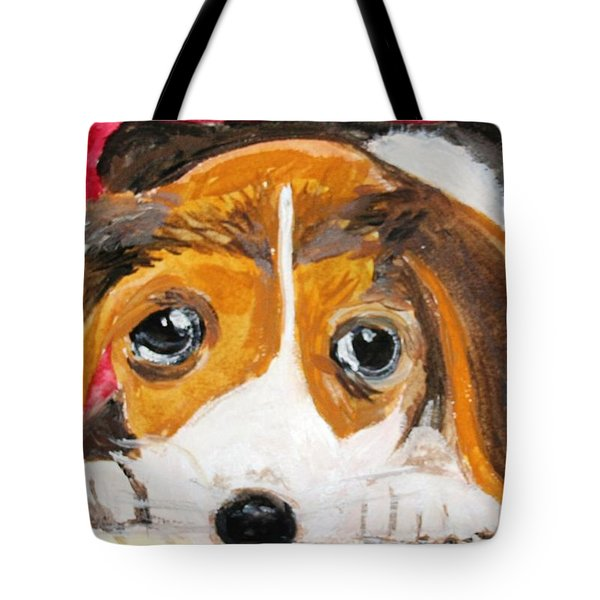 Puppy For Love Tote Bag