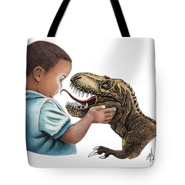Puppy Love Two Tote Bag