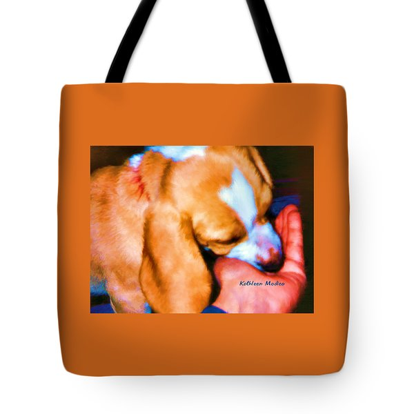 Puppy Time Tote Bag