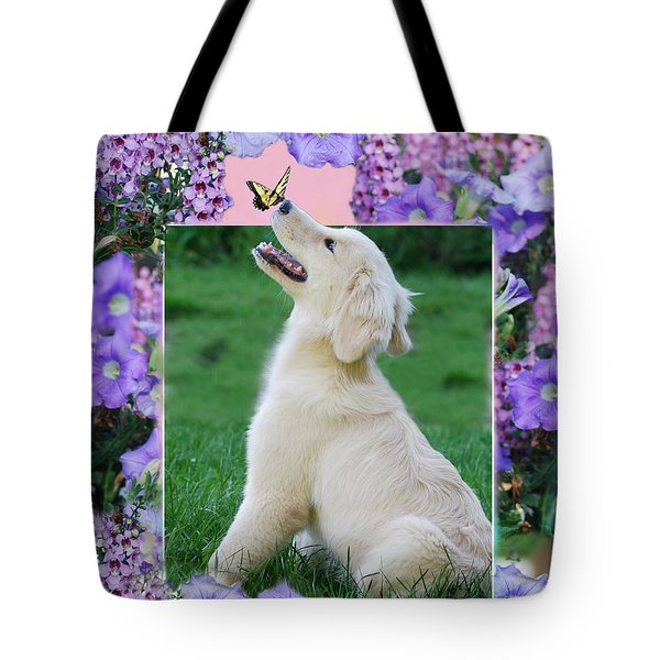 Puppy's World Tote Bag