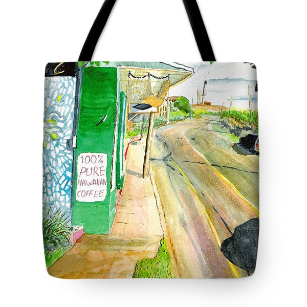 Tote Bag featuring the painting Pure Hawaiian by Eric Samuelson