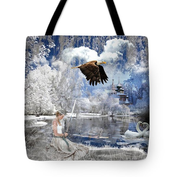 Pure Hearted Warrior Tote Bag