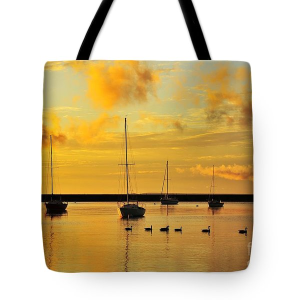 Pure Michigan Gold Tote Bag