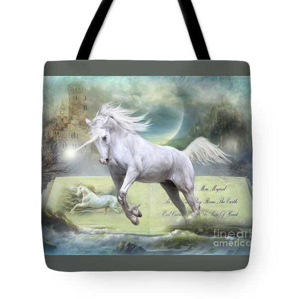 Pure Of Heart Tote Bag