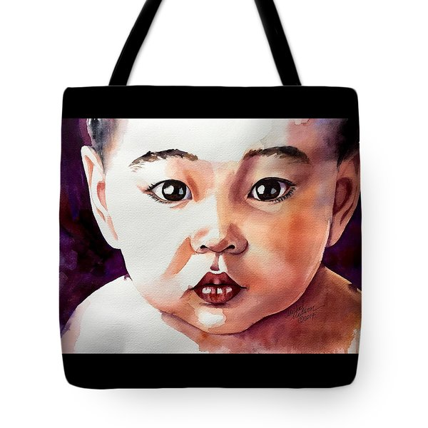 Tote Bag featuring the painting Pure Potential by Michal Madison