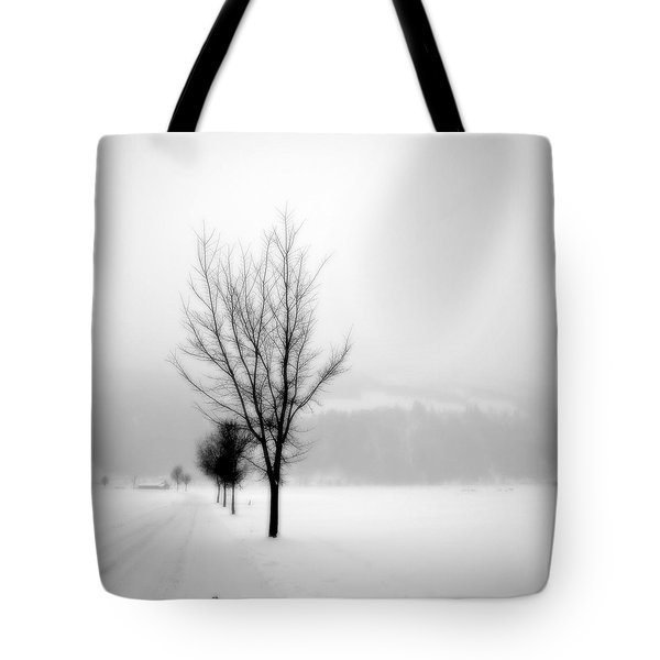 Pure White II Tote Bag