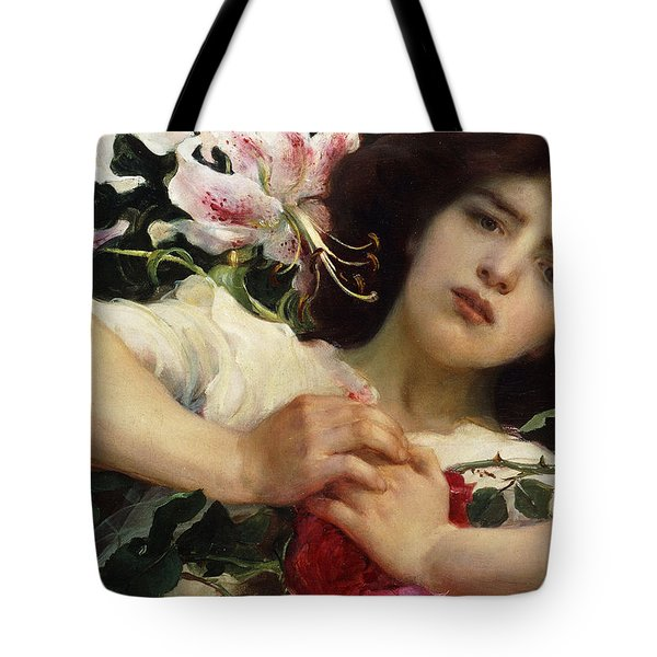 Purity And Passion Tote Bag